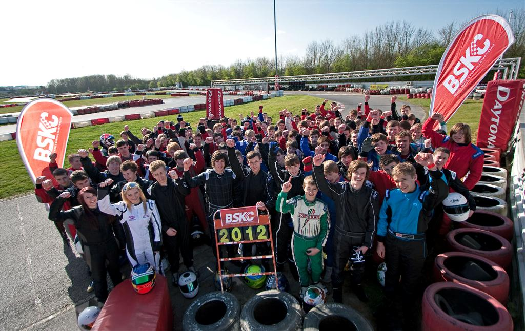 Over 100 students from 34 schools & colleges raced in the 2012 BSKC Final